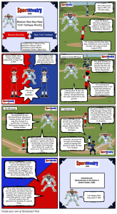 SportRivalry.com Comic Boston Red Sox vs. New York Yankees NEW