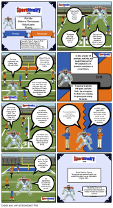 SportRivalry.com Comic Florida vs. Tennessee NEW