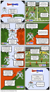 SportRivalry.com Comic Oregon vs. Oregon State NEW