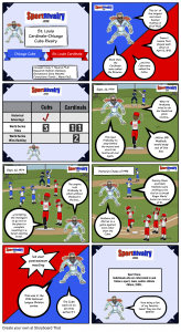 SportRivalry.com Comic St. Louis Cardinals vs. Chicago Cubs NEW