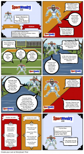 SportRivalry.com Comic Texas vs. Oklahoma NEW