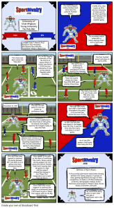 SportRivalry.com Comic Utah vs. BYU NEW
